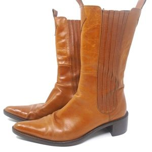 Cowboy Leather Boots 37.5